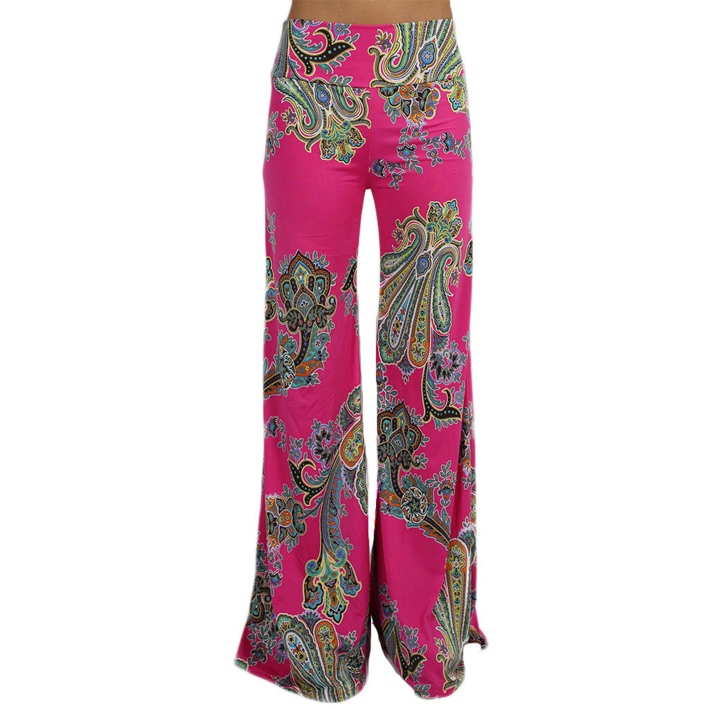 Pretty Like Paisley Pants Fuchsia