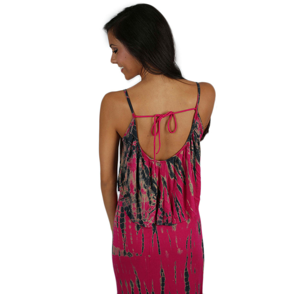 Spring Break Bound Maxi Fuchsia