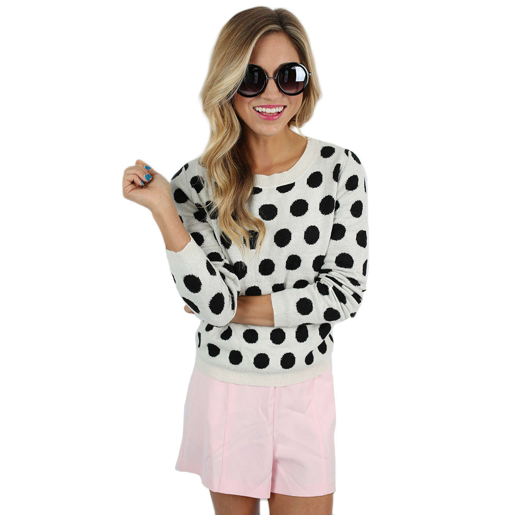 Sweet Dot Sweater