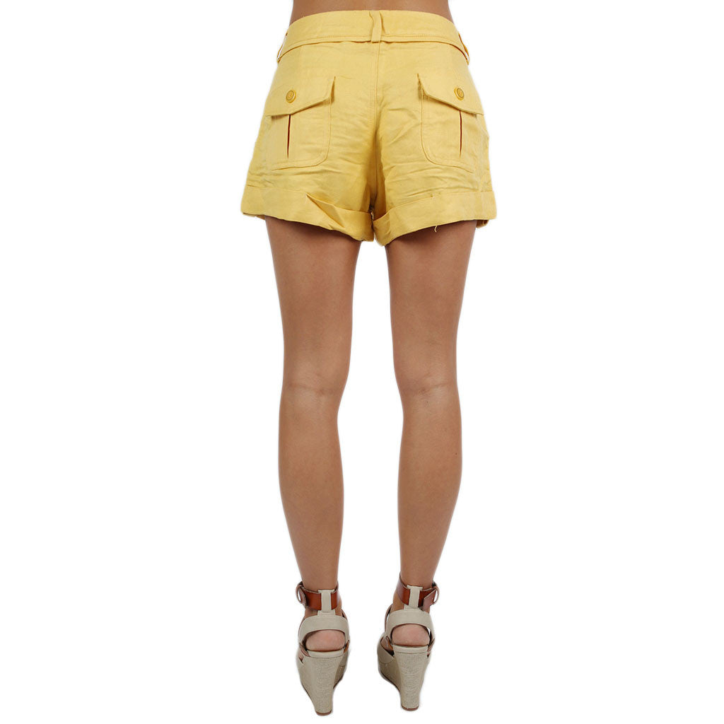 Shine Bright Shorts Yellow
