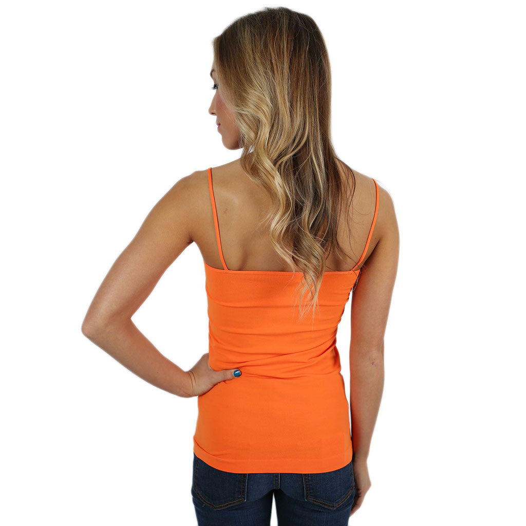 Seamless Cami Orange
