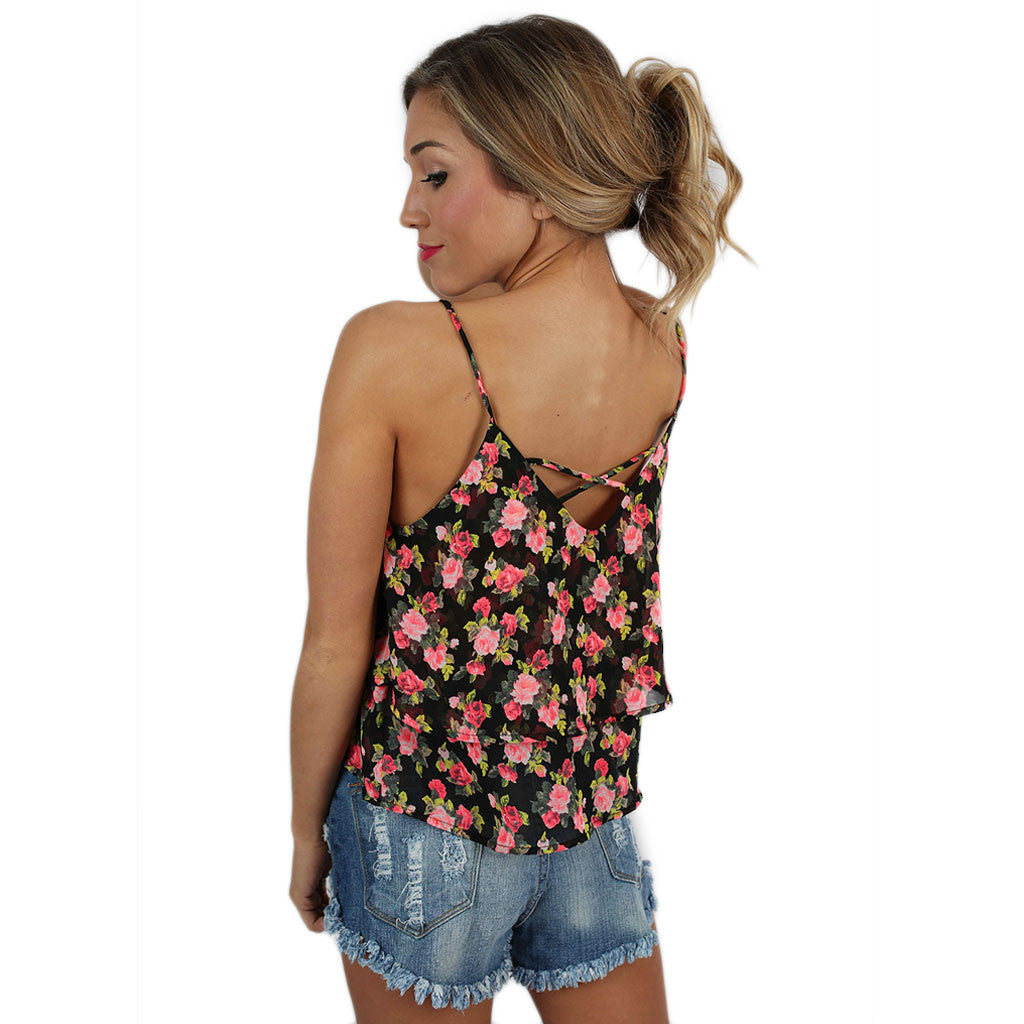 Blissful Floral Tank