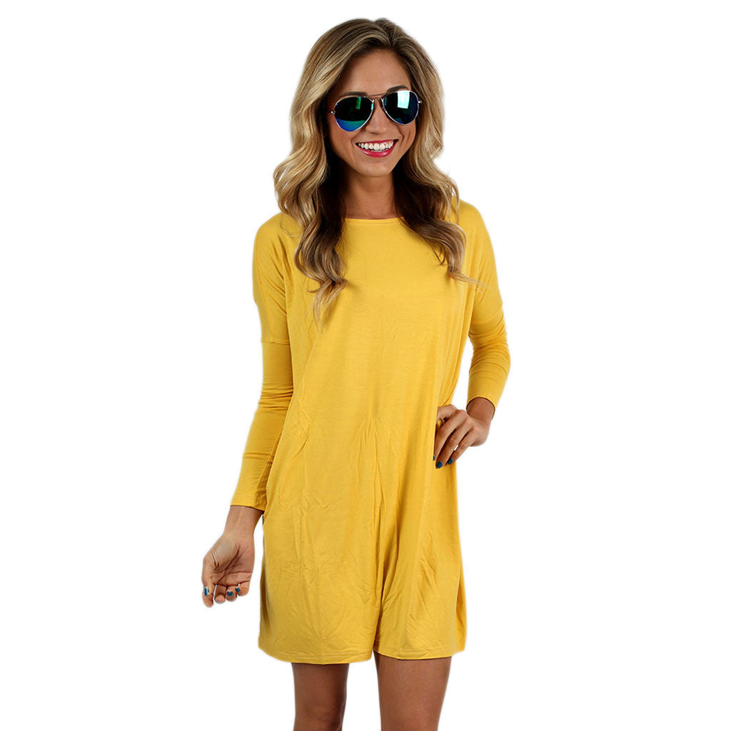 PIKO Tunic in Mustard