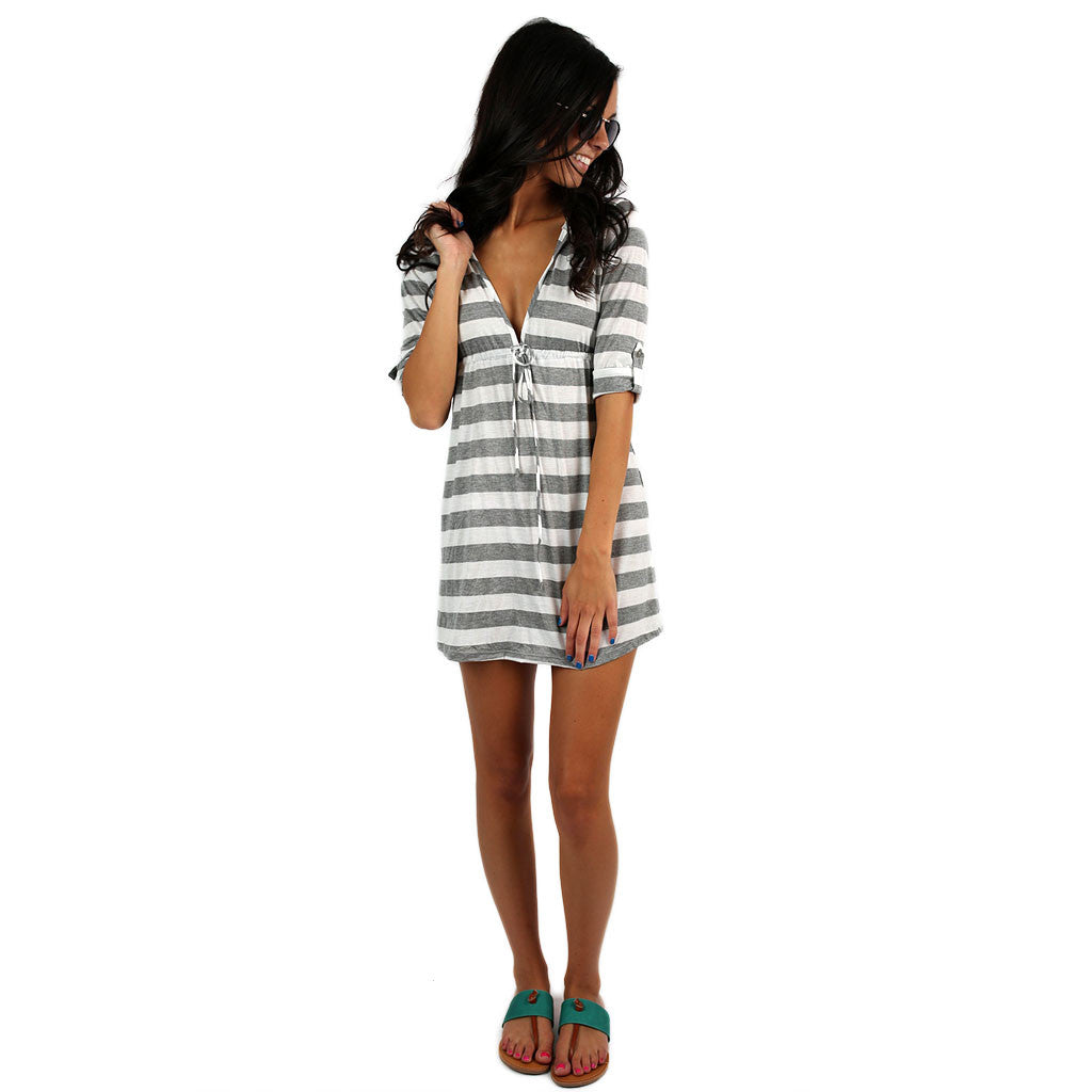 Summer In The Hamptons Striped Dress