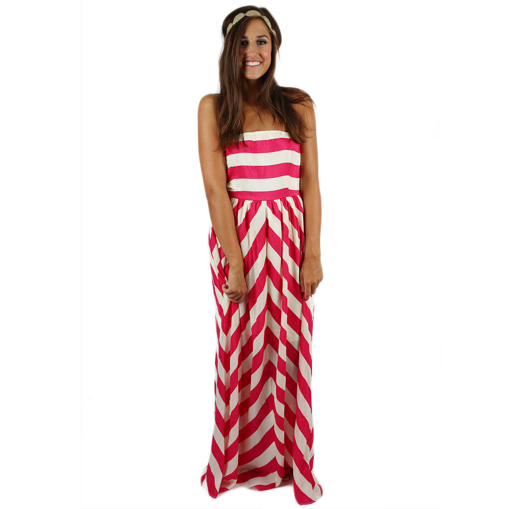 All About The Details Maxi in Fuchsia