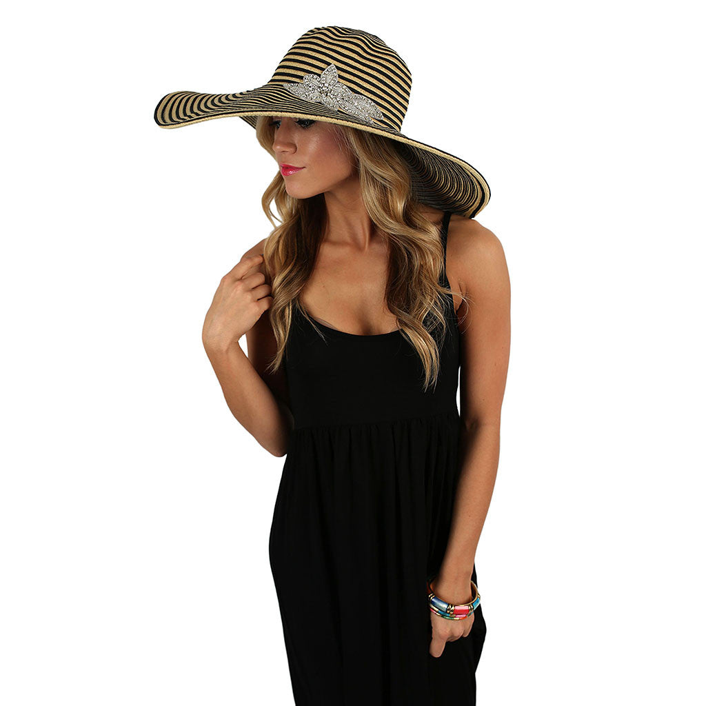 Mimosas On The Coast Hat Black