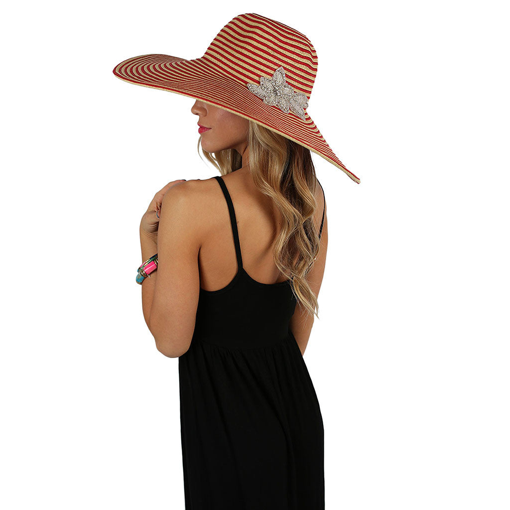 Mimosas On The Coast Hat Red