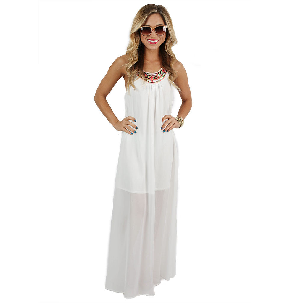 If You Like Pina Coladas Maxi in White