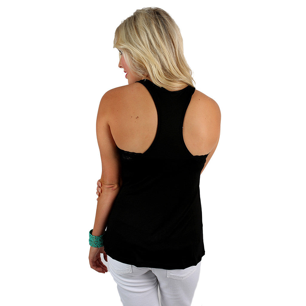 Mermaid Fun Tank in Black