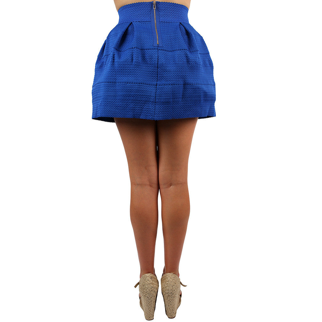 Got To Have It Skirt in Royal Blue