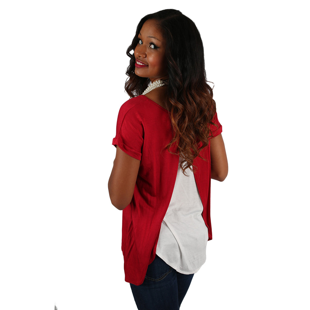 Team Spirit Tee Red