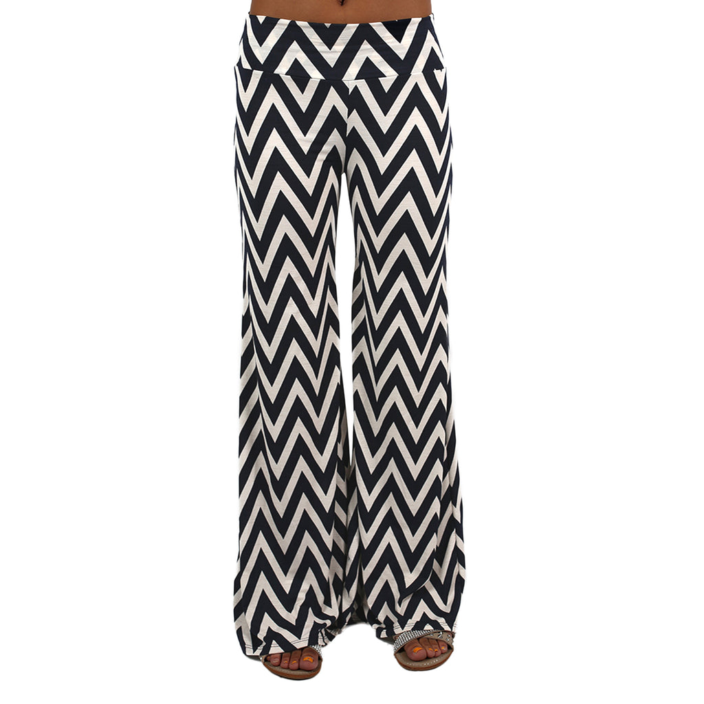 Striped Desire Pants Navy