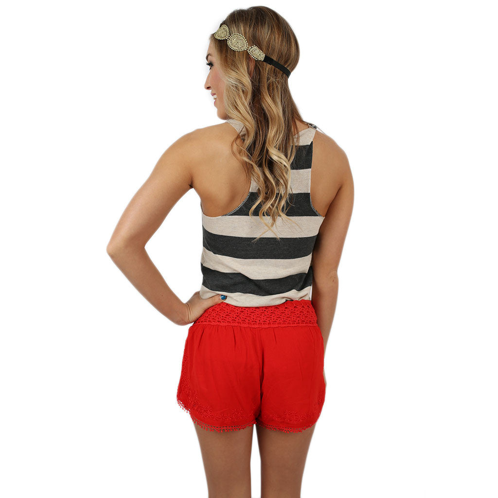 Eco Stripe Tank Gold Hog