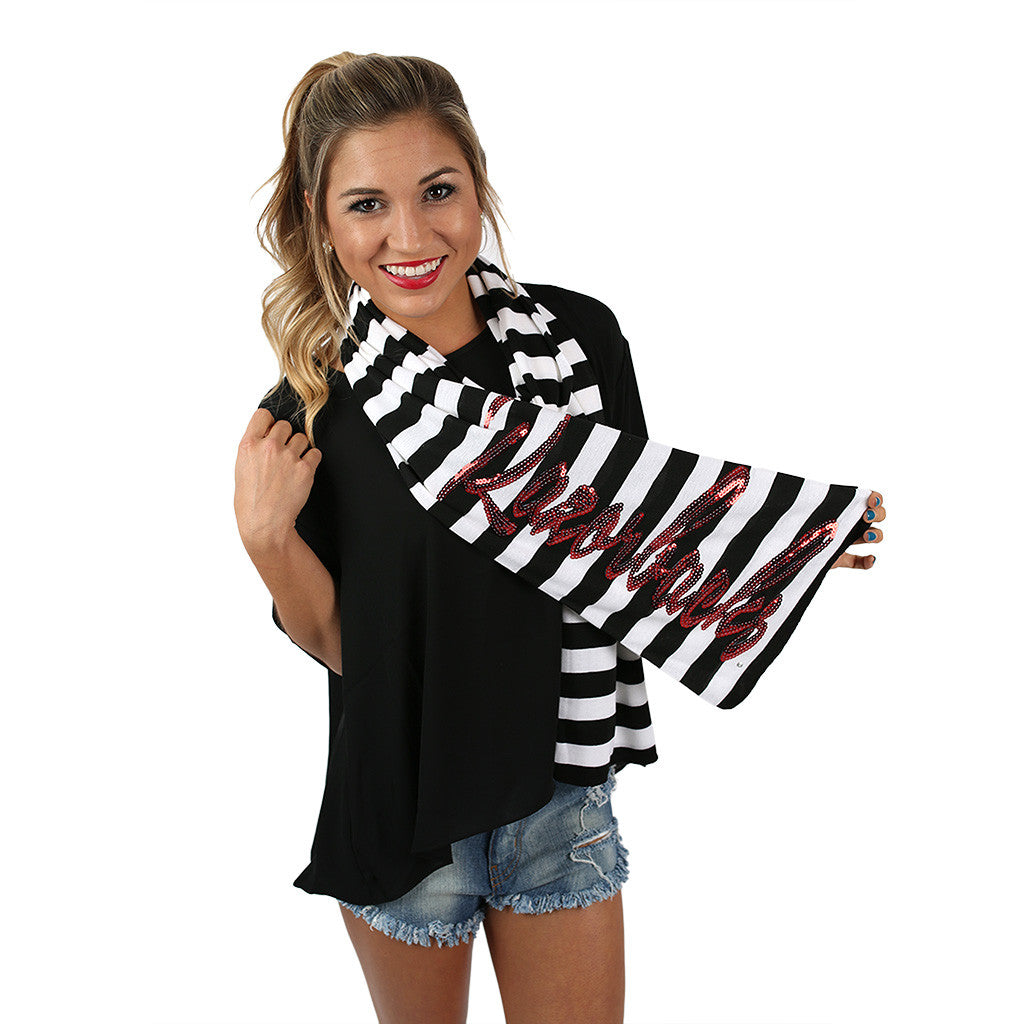 Stripe Scarf Arkansas