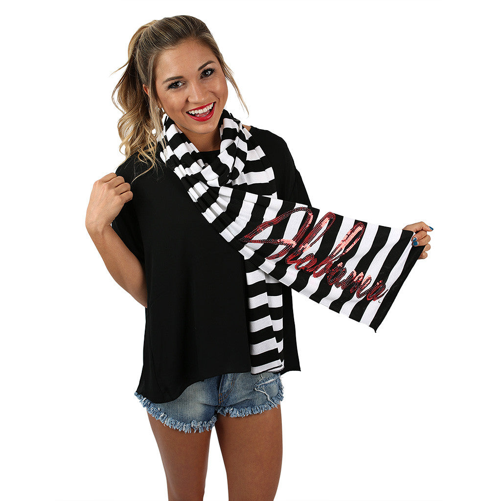Stripe Scarf Alabama