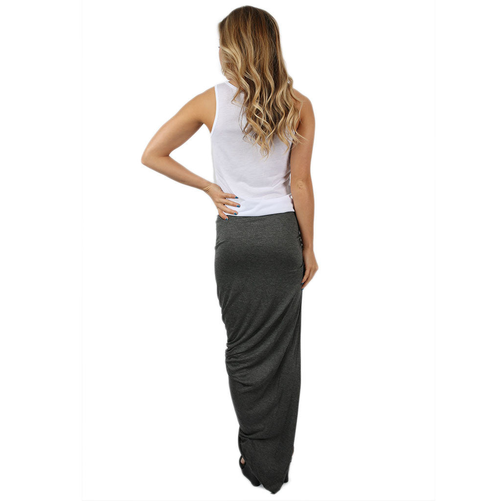 Keeping it Hot Skirt Charcoal