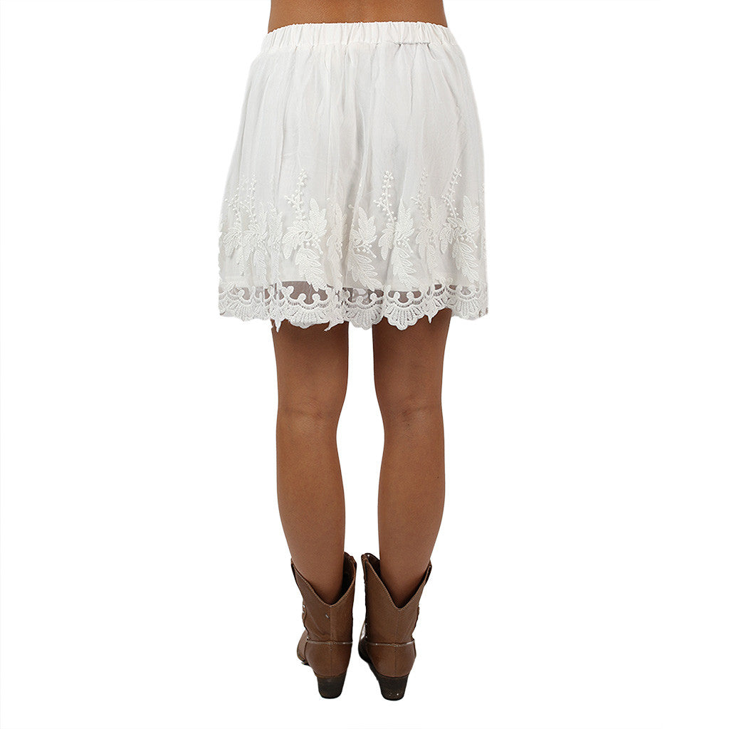 Lacey Keen Skirt in Ivory