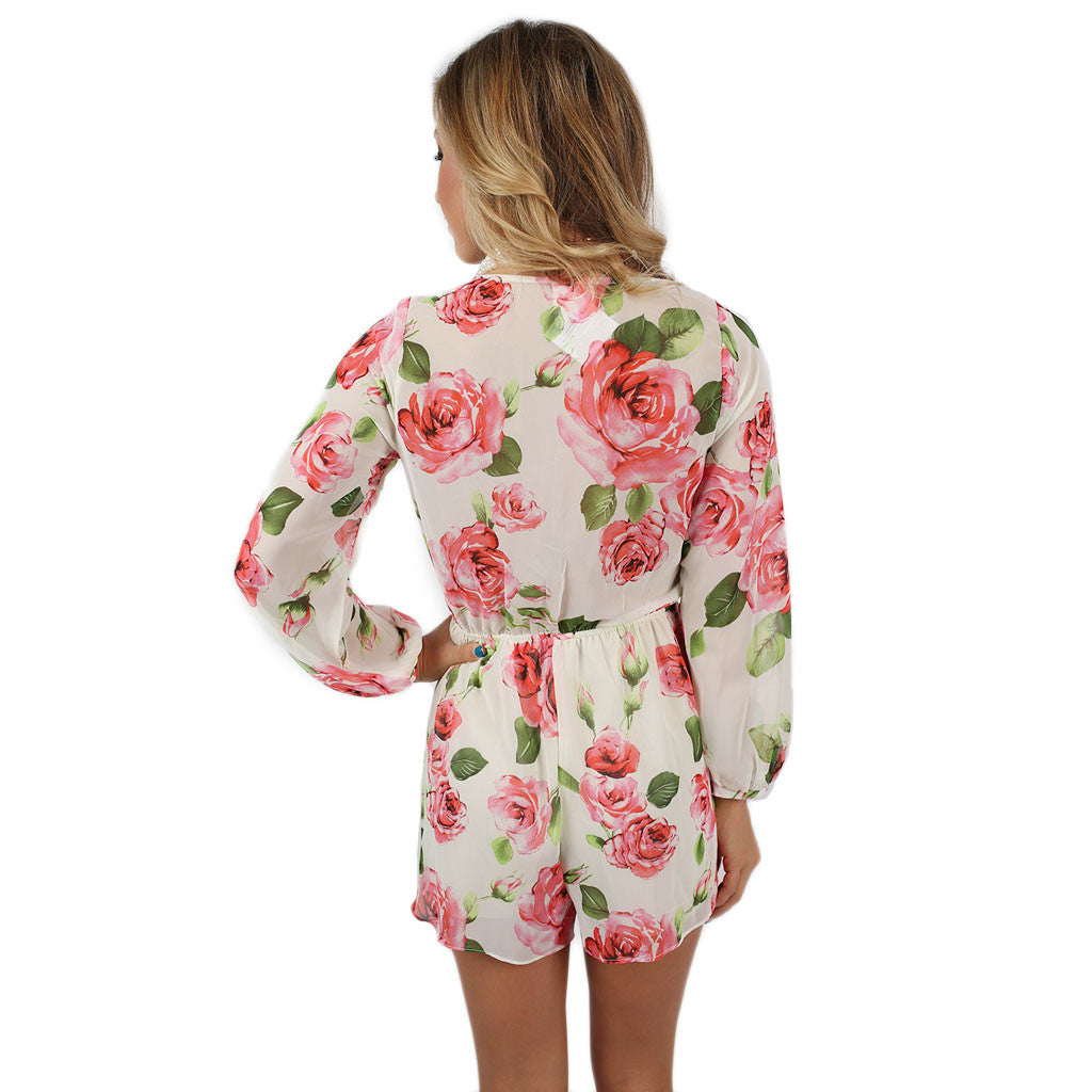 Floral Chic Romper