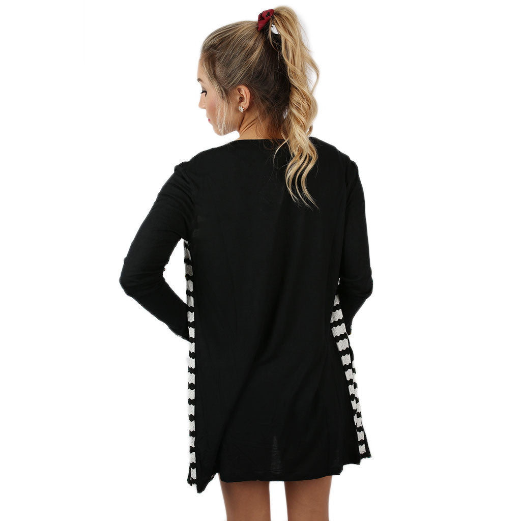 Cuddle Time Cardi Black