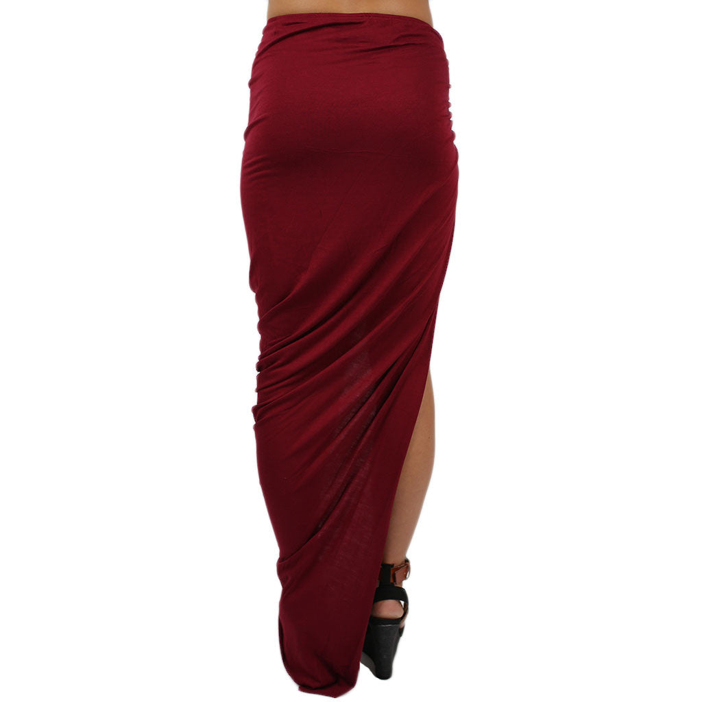 Keeping it Hot Skirt Wine