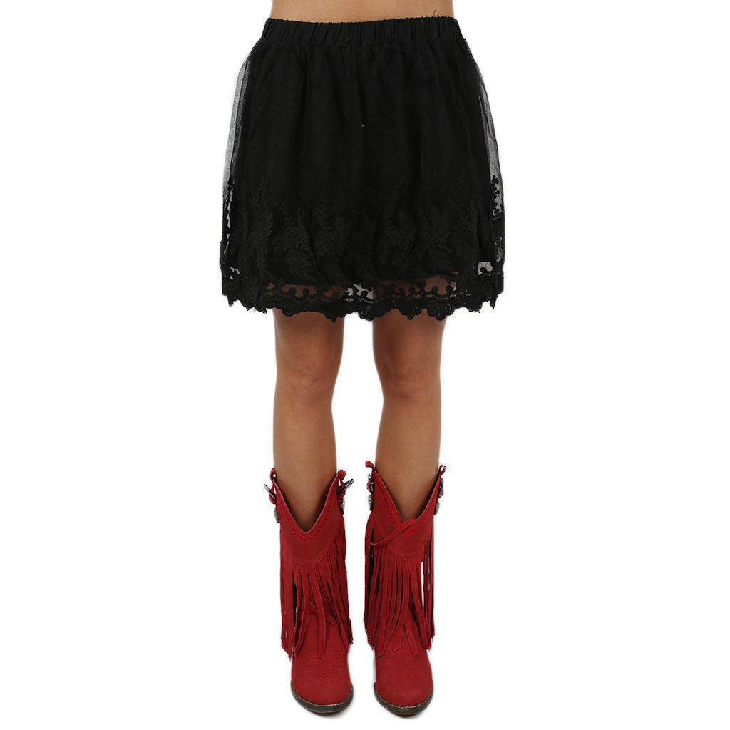 Lacey Keen Skirt in Black