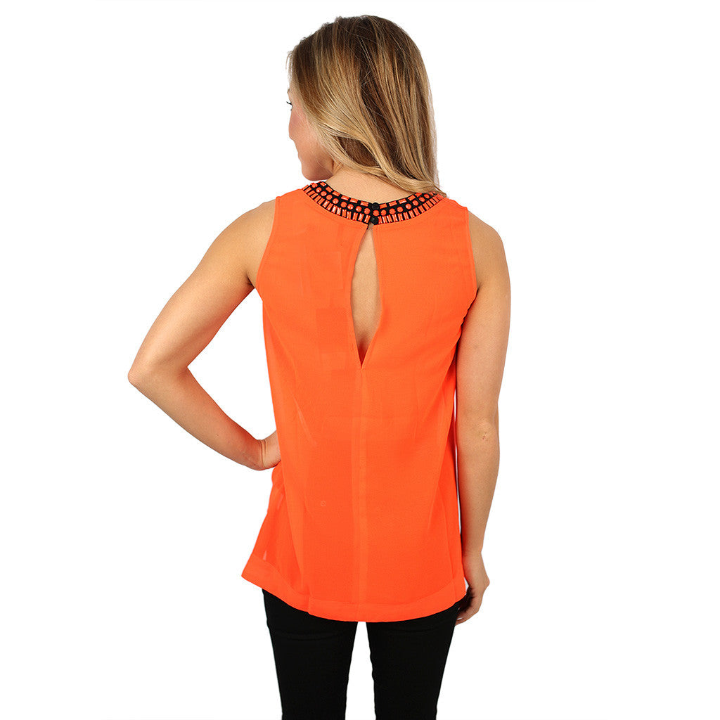Original Beauty Tank Neon Orange