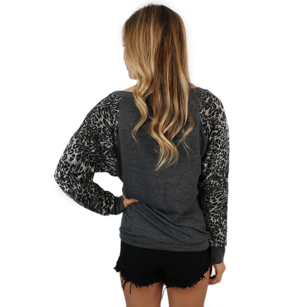Leopard Sweater Texas Tech