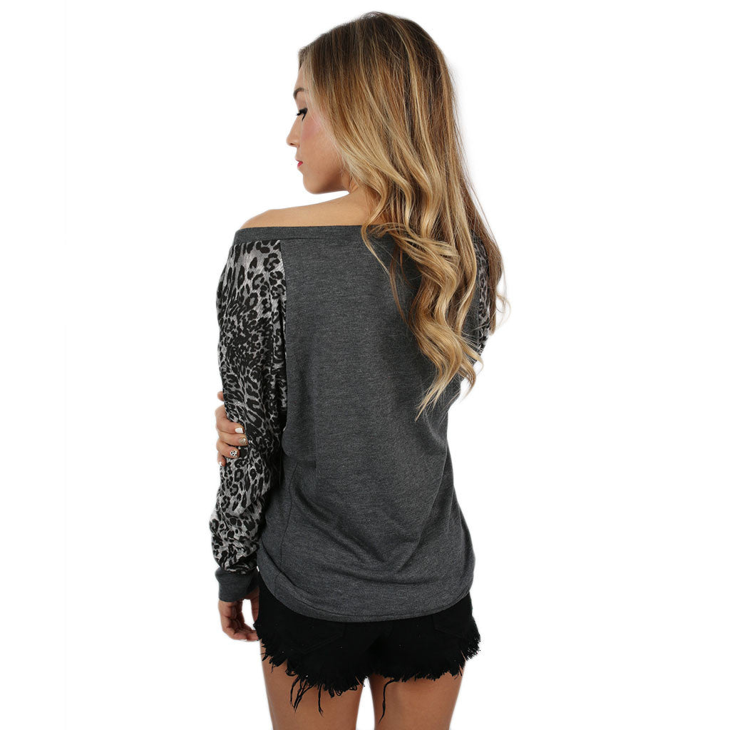 Leopard Sweater Kansas State