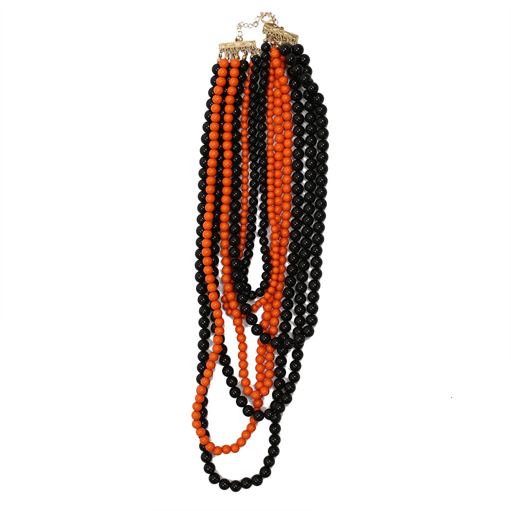 Tangle Me Up Two Tone Black and Orange
