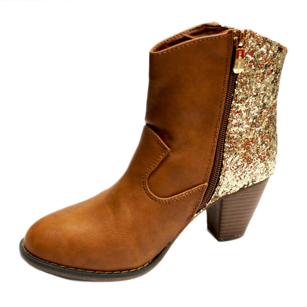 Watch Me Sparkle Ankle Boot