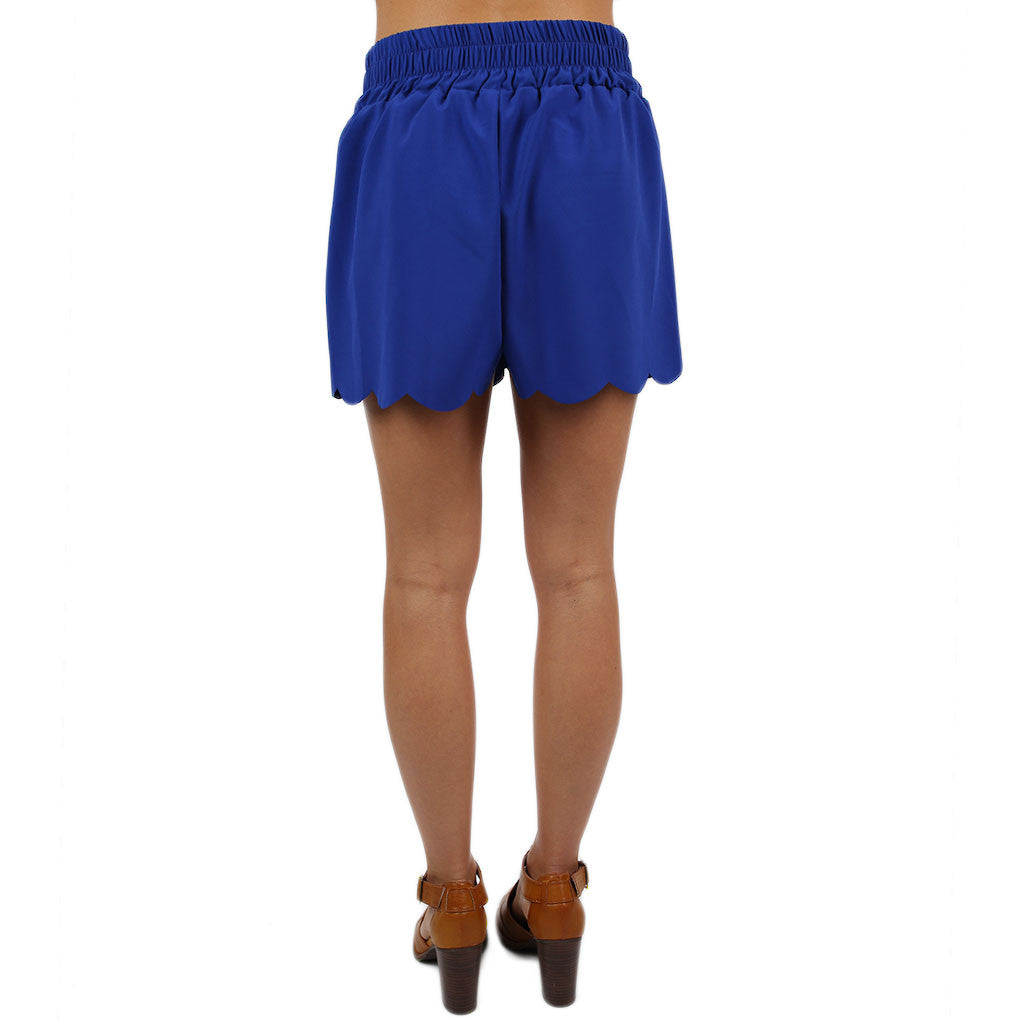 Here to Win Shorts Royal Blue