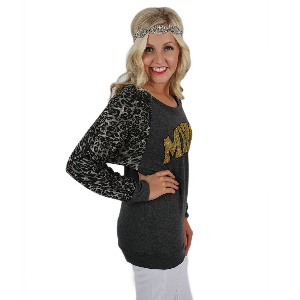 Leopard Sweater University of Missouri