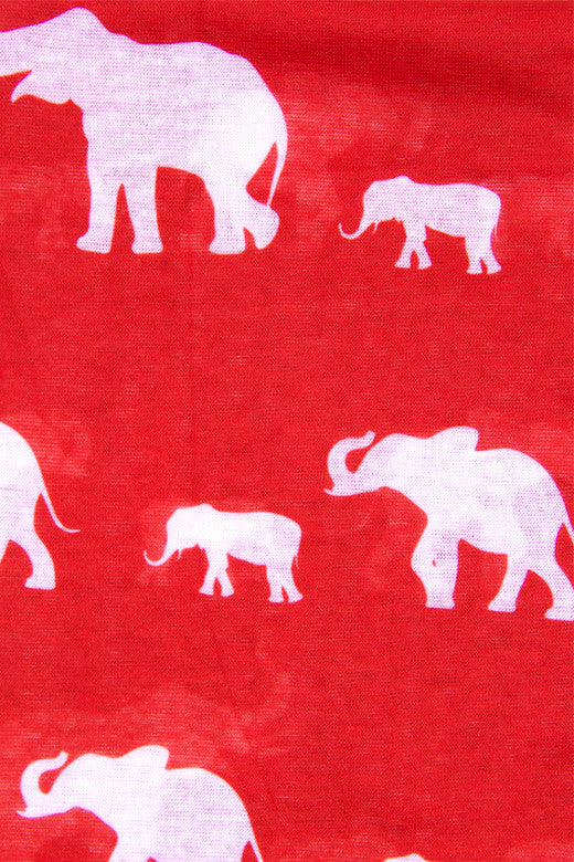 Elephant Love Scarf
