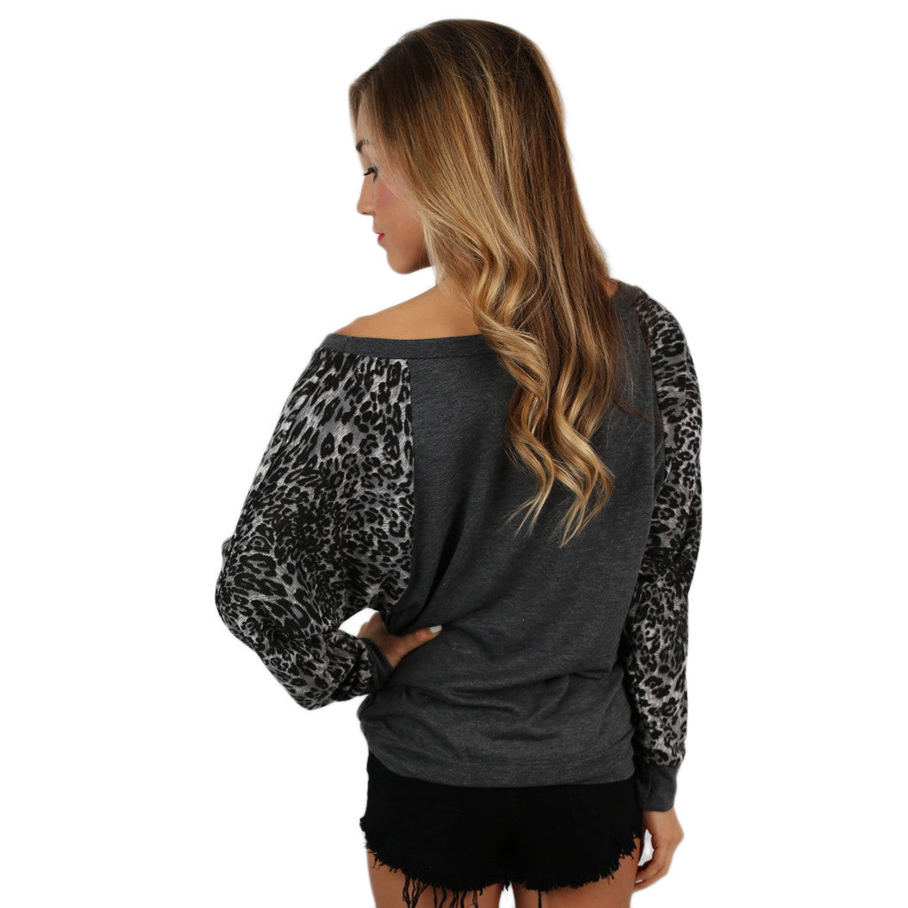 Leopard Sweater Oklahoma State