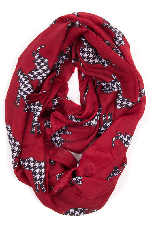 Alabama Love Infinity Scarf
