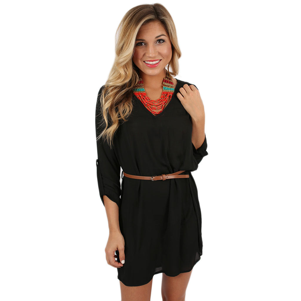 Fashion Innovator Tunic Black