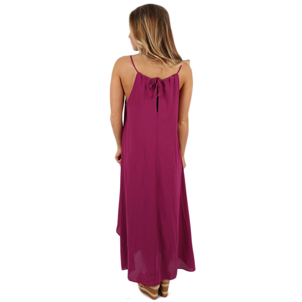 French Cinema Dress in Orchid