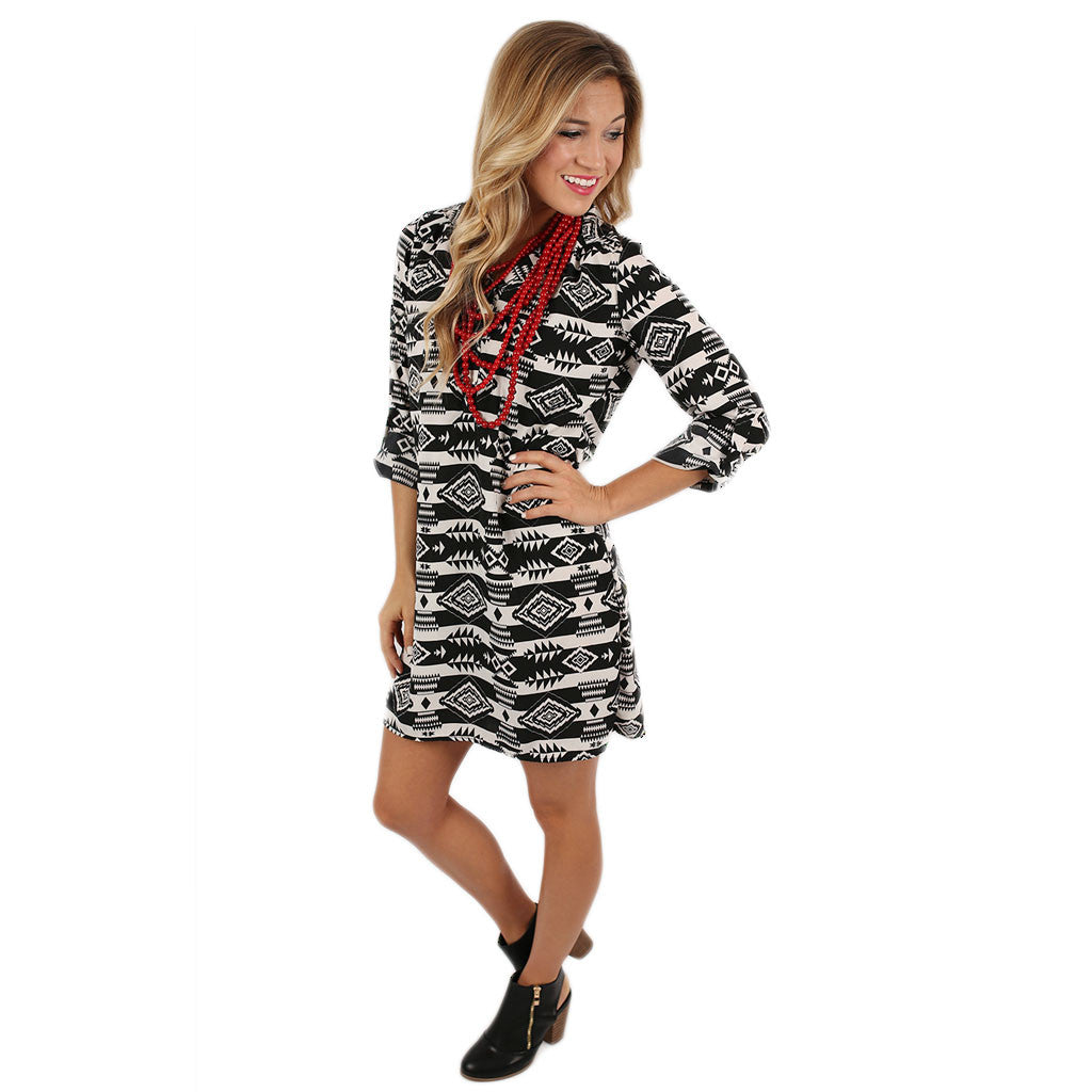 Modern Beauty Tunic Dress