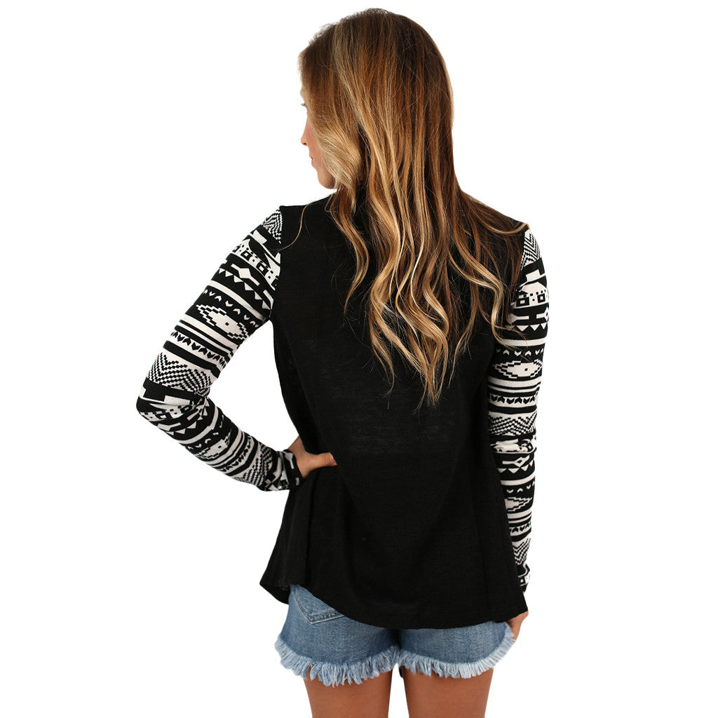 Paris Nights Cardi in Black