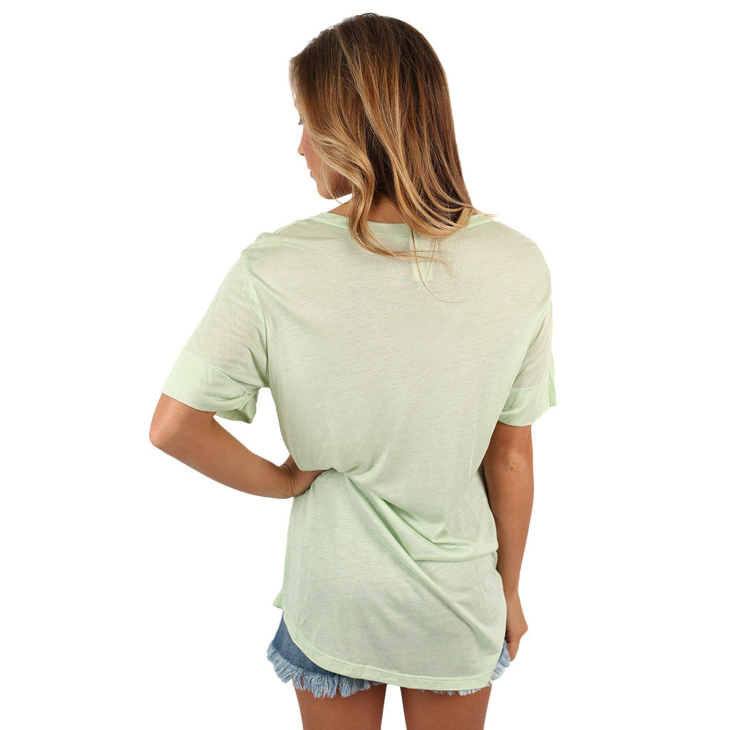 Tried & True Tee Pistachio