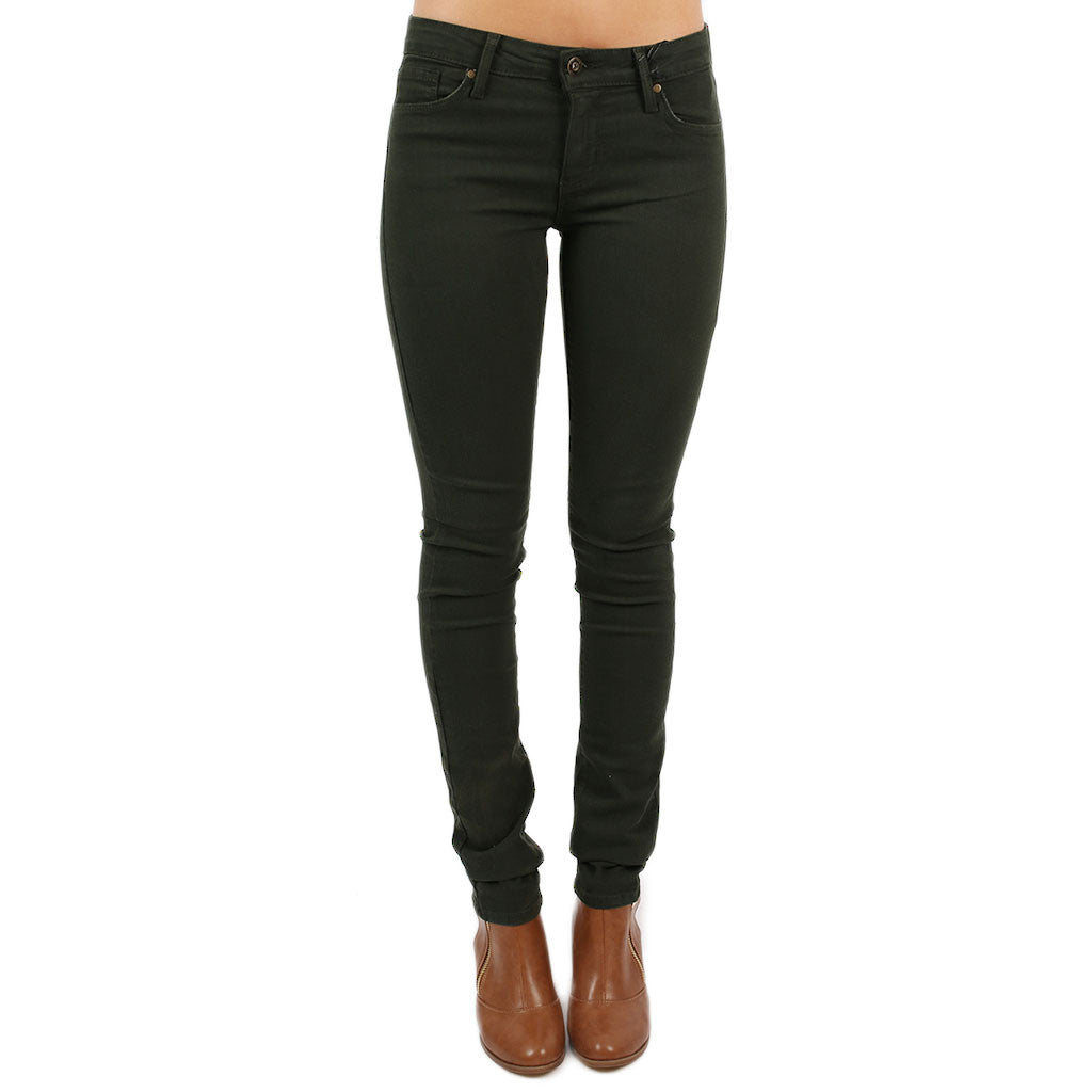 Ultra Skinny Jean in Forest