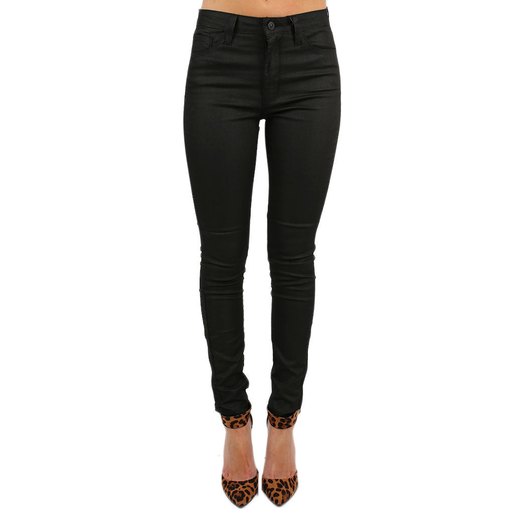 Highrise Coated Skinny