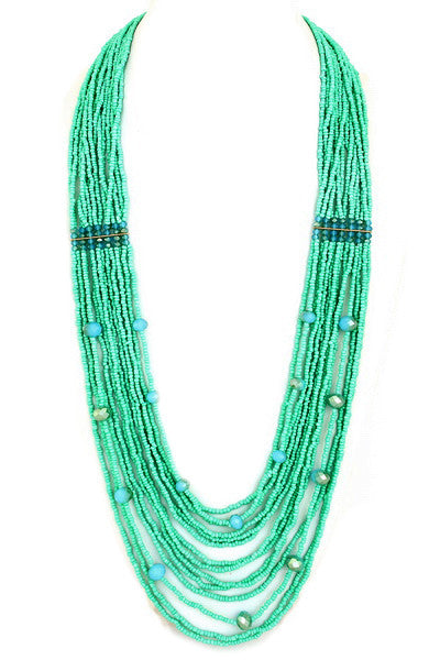 Close To My Heart Necklace in Turquoise