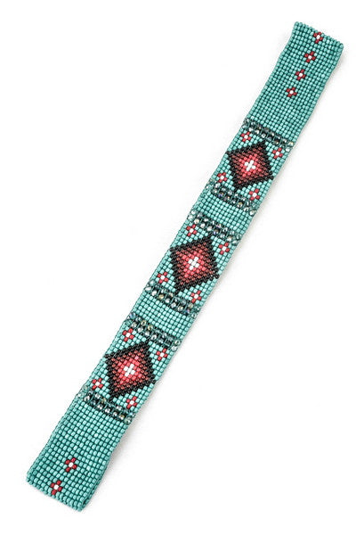 Soul Searching Headband in Turquoise