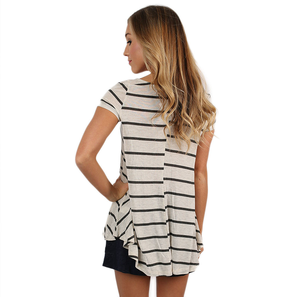 Sweet In Stripes Ivory