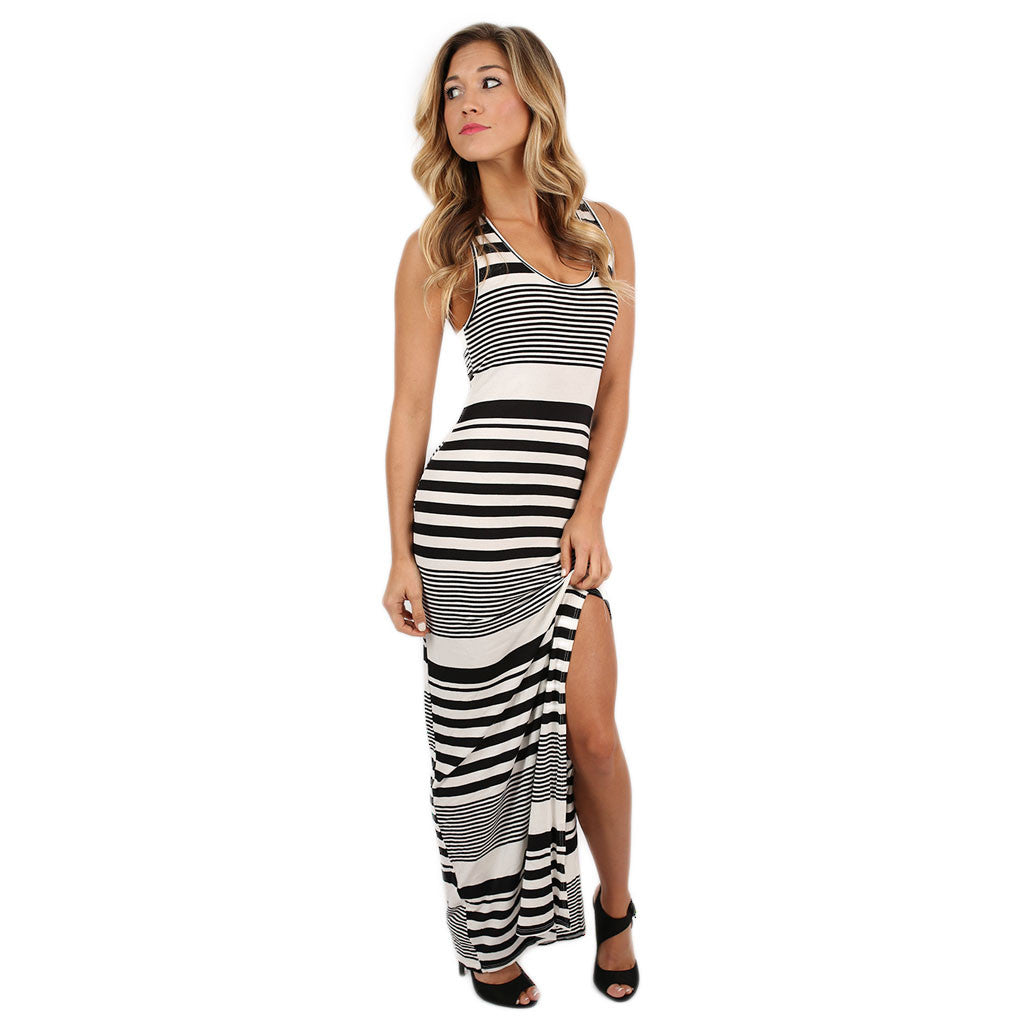 Heart On The Beach Maxi in Black