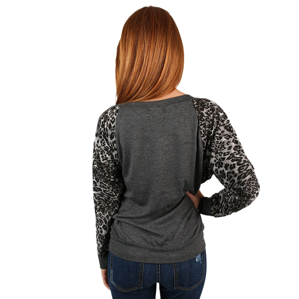 Leopard Sweater Clemson University