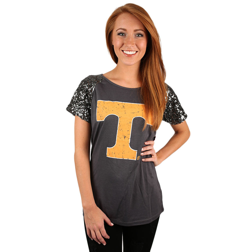 Sequin Sleeve Jersey Tennessee