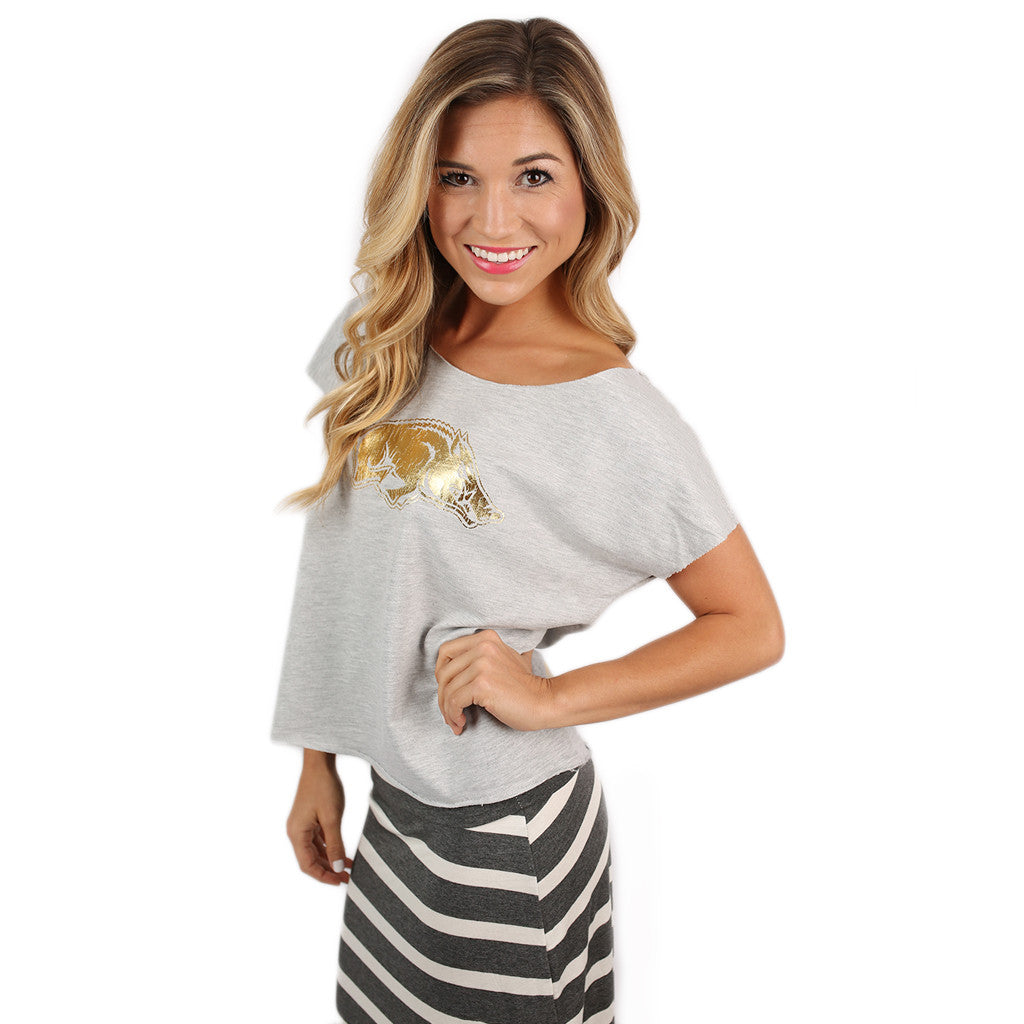 Grey Dolman With Gold Razorback