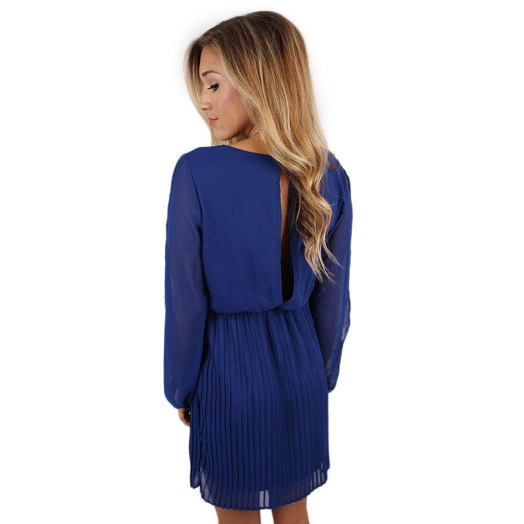 The Wedding Date Dress in Royal Blue